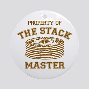 Property Of Stack Master Ornament (Round)