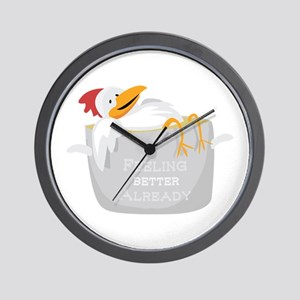 Feeling Better Wall Clock