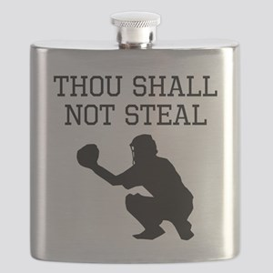 Thou Shall Not Steal Flask