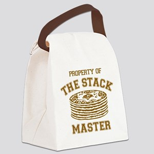 Property Of Stack Master Canvas Lunch Bag
