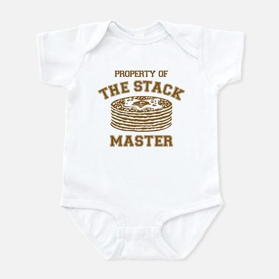 Property Of Stack Master Infant Bodysuit