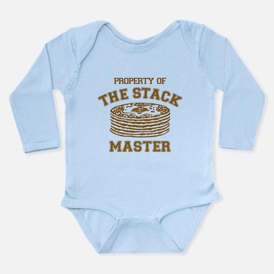Property Of Stack Mast Long Sleeve Infant Bodysuit