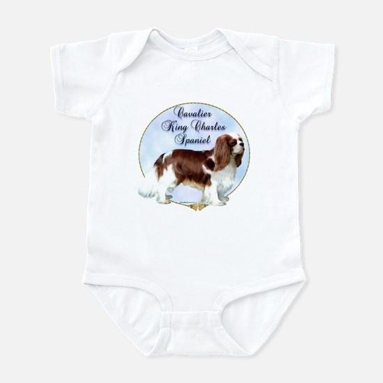 Cavalier Portrait Infant Bodysuit
