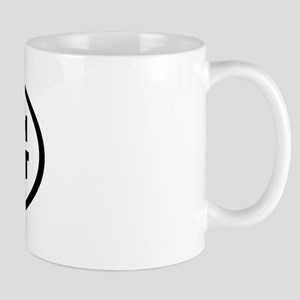 BUG Oval Mug