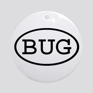 BUG Oval Ornament (Round)