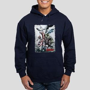 Avengers Sketch Hoodie (dark)