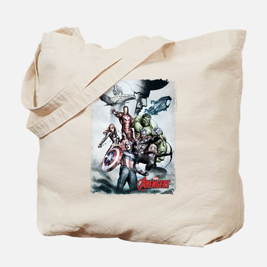 Avengers Sketch Tote Bag