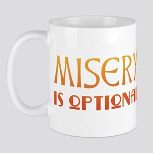 Misery Is Optional Recovery Mug