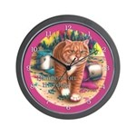 Blame it on the Dog Wall Clock