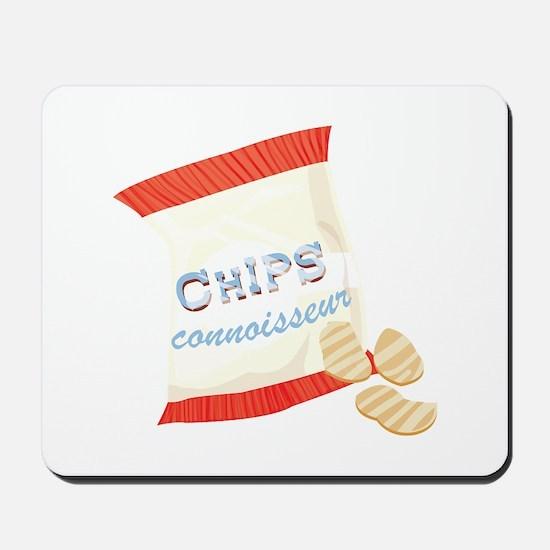 Chips Connisseur Mousepad