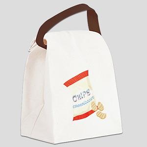 Chips Connisseur Canvas Lunch Bag