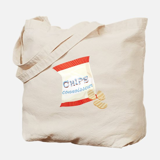Chips Connisseur Tote Bag