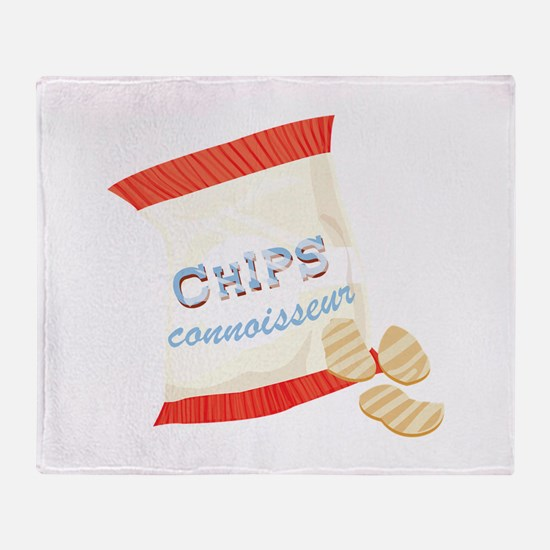 Chips Connisseur Throw Blanket