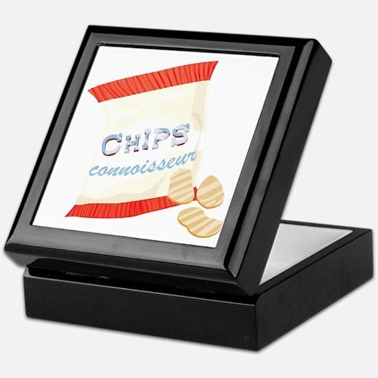 Chips Connisseur Keepsake Box