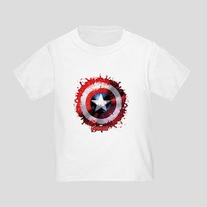 Cap Shield Spattered Toddler T-Shirt
