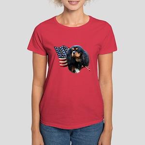 Cavalier Flag Women's Dark T-Shirt