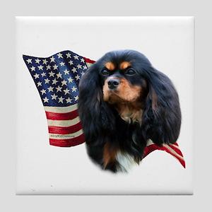 Cavalier Flag Tile Coaster