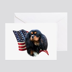 Cavalier Flag Greeting Cards (Pk of 10)