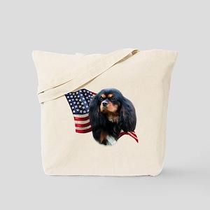 Cavalier Flag Tote Bag