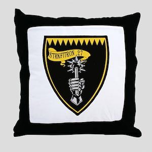 3-royalMace Throw Pillow