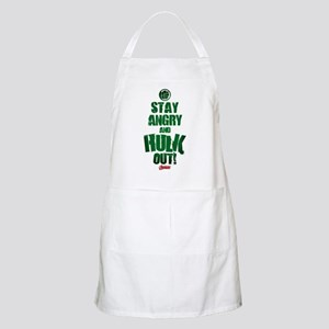 Stay Angry and Hulk Out Apron