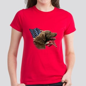 Chessie Flag Women's Dark T-Shirt