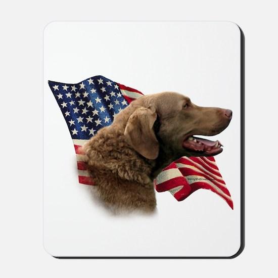 Chessie Flag Mousepad