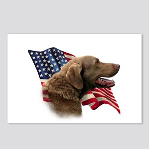 Chessie Flag Postcards (Package of 8)