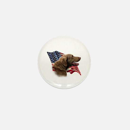 Chessie Flag Mini Button