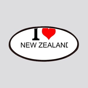 I Love New Zealand Patches