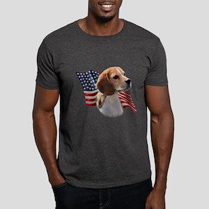 Beagle Flag Dark T-Shirt