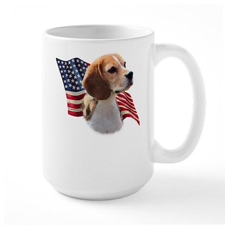 Beagle Flag Large Mug