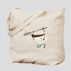 Coffee Is Happiness Tote Bag