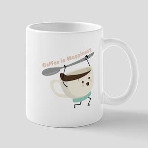 Coffee Is Happiness Mugs