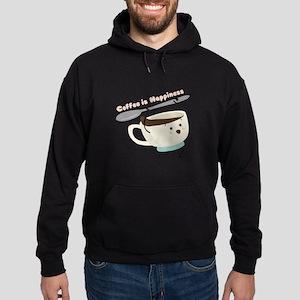 Coffee Is Happiness Hoodie