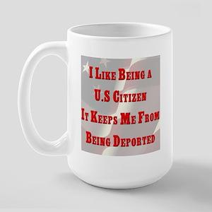 U.S. Citizen Large Mug