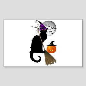 Le Chat Noir - Halloween Witch Sticker