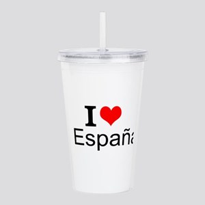 I Love España Acrylic Double-wall Tumbler