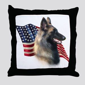 Terv Flag Throw Pillow