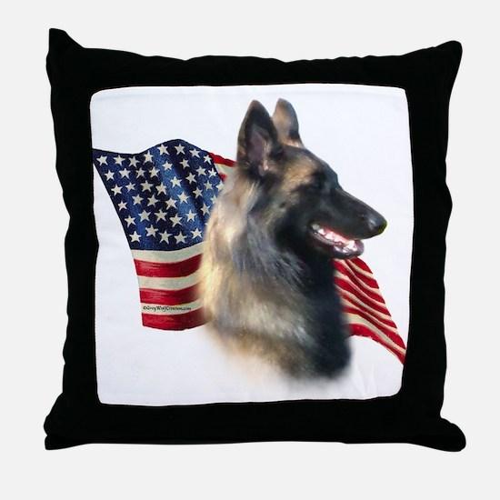 Terv Flag Throw Pillow
