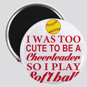GIRLS SOFTBALL Magnets