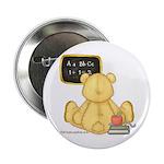 School Bear Button