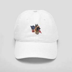 Malinois Flag Cap