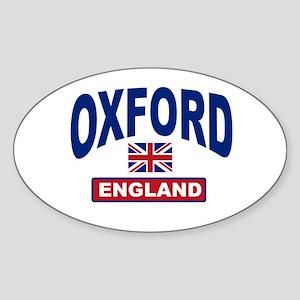 Oxford England Oval Sticker
