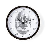 Masonic Brother George Washington Wall Clock