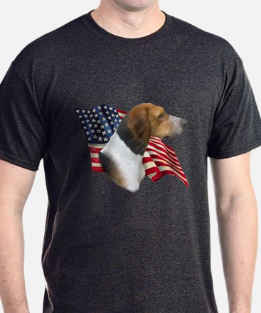Am Foxhound Flag T-Shirt