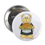 Give Thanks Bear Button