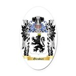 Girodier Oval Car Magnet