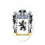 Girodias Oval Car Magnet