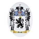 Girod Ornament (Oval)